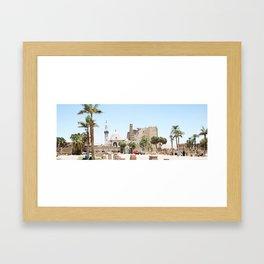 Temple of Luxor, no. 14 Framed Art Print