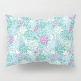 Sky of Flowers Pillow Sham