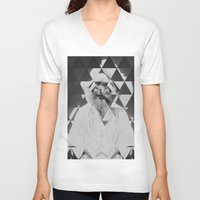 kaleidoscope V-neck T-shirts featuring Kaleidoscope by Mrs Araneae
