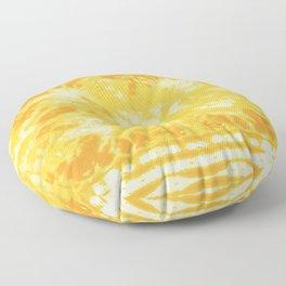 Shibori Beach Sun Floor Pillow