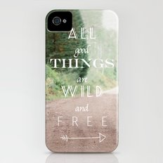 ALL GOOD THINGS iPhone (4, 4s) Slim Case
