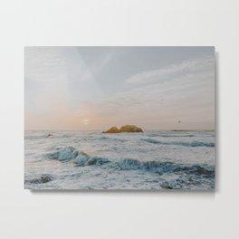 summer sunset vi / san francisco, california Metal Print