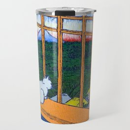 Asakusa Tanbo Tori No Machi Mode (after Hiroshige) Travel Mug