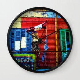 The Warehouse, La Boca, Buenos Aires Wall Clock