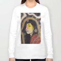 "indigo Long Sleeve T-shirts featuring ""Indigo""  by Kazimir Simpson"