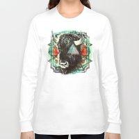 navajo Long Sleeve T-shirts featuring Navajo by 4364