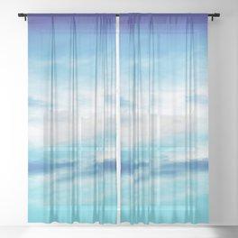 Sky blend Sheer Curtain