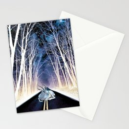Road Block Stationery Cards