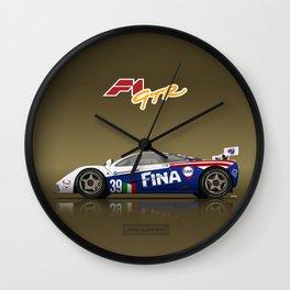 1996 McLaren F1 GTR #17R FINA Wall Clock