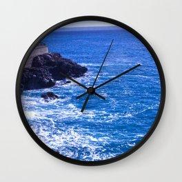 Mediterranean Shore Wall Clock