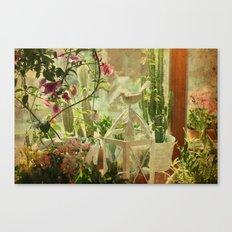 Lil' Garden Canvas Print
