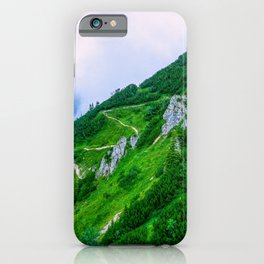 The steep path on the mountain iPhone Case