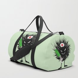 Evil Bug Nurse With Syringe Duffle Bag