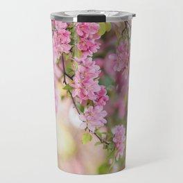 Spring Pink Travel Mug