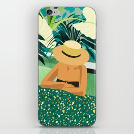 Chill #illustration #travel iPhone Skin