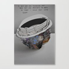 I Put On My Thinking Cap Canvas Print