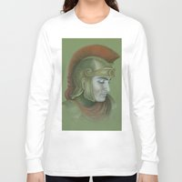 soldier Long Sleeve T-shirts featuring Soldier by Jane Stradwick