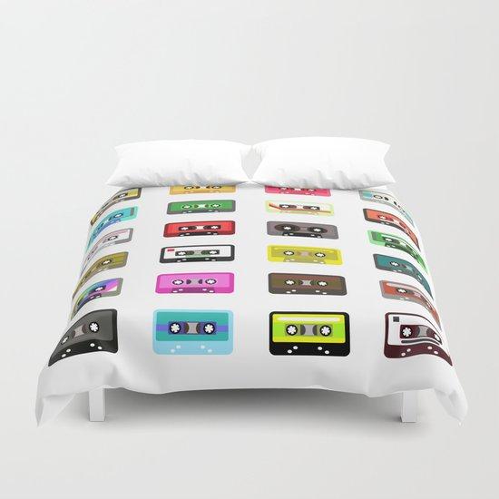 Cassete pattern Duvet Cover