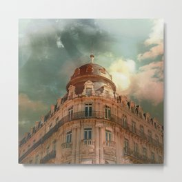 Montpellier  - France Building and sky Metal Print