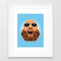 action bronson Framed Art Prints featuring Action Bronson by Alex89er
