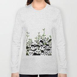 A Pandemonium of Pandas  Long Sleeve T-shirt