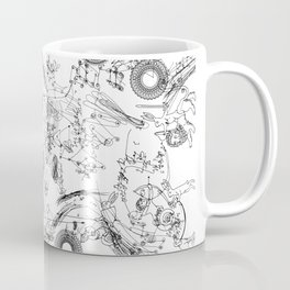 Sacra Marginalia (horizontal) Coffee Mug