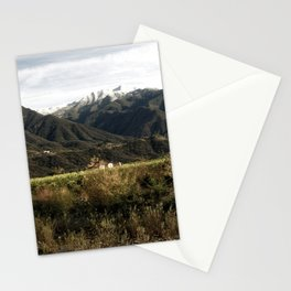 Ojai Valley With Snow Stationery Cards