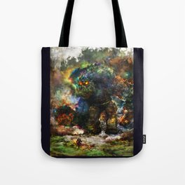 shadow of the witcher Tote Bag