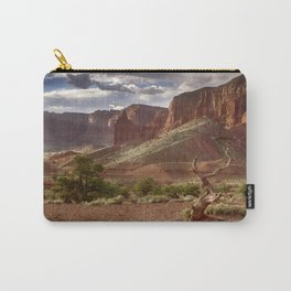 Mountains at Capitol Reef National Park - Utah Carry-All Pouch