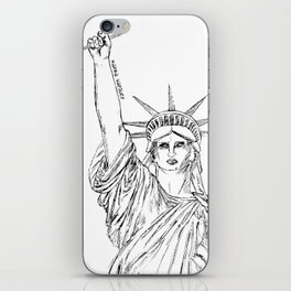 Freedom of Expression iPhone Skin