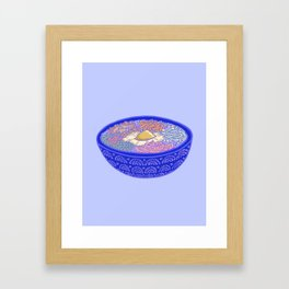 Bibimbap Bowl Framed Art Print