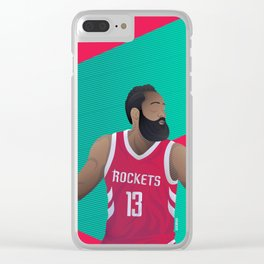 Harden - Fear the Beard Clear iPhone Case