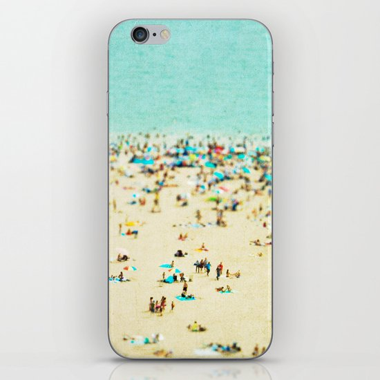Coney Island Beach iPhone & iPod Skin