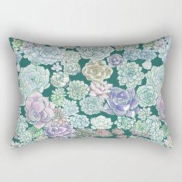 Succulent Sketches Rectangular Pillow