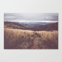 Bieszczady Mountains - Landscape and Nature Photography Canvas Print