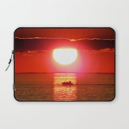 Sailboat Holds the Sun Laptop Sleeve