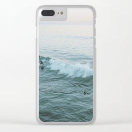 Let's Surf V Clear iPhone Case