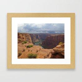 Glen Canyon Overlook Framed Art Print