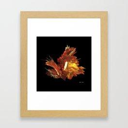 Fire & Flames Framed Art Print