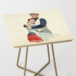 The Quiet Man - Watercolor Side Table
