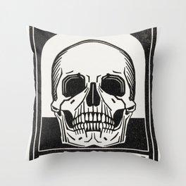 Julie de Graag - Memento mori Throw Pillow