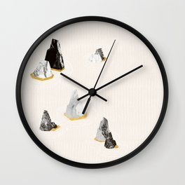 Marble Rock Formation Wall Clock