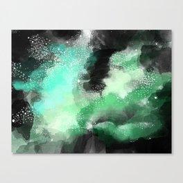 Galaxy Space Pattern Canvas Print