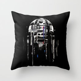 """""""Nearsighted Scrap Pile"""" Throw Pillow"""