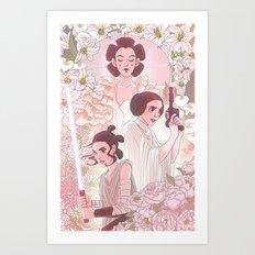 Ladies of the Light Side Art Print
