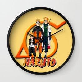 Boruto Naruto Minato Wall Clock