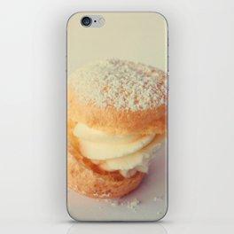 Cream Puff iPhone Skin