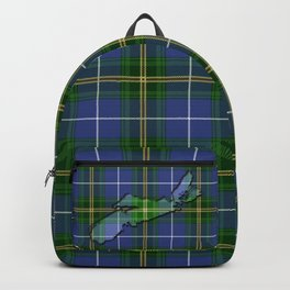 Nova Scotian Tartan Backpack