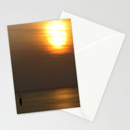Lone Figure Stationery Cards
