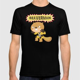 The incredible Beaverman T-shirt